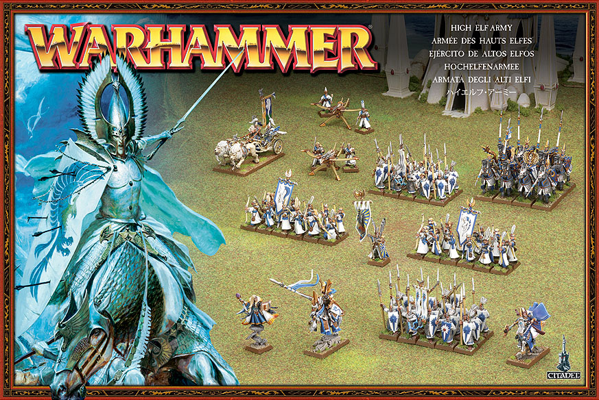 Warhammer High Elves Army Book 8th Edition